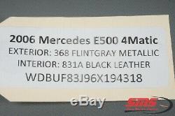 Mercedes W211 E500 Cls500 Sbc Abs Pompe De Frein Hydraulique Antiblocage Oem 0084313912