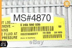 Mercedes W211 E55 Amg Sl500 Sbc Frein Antiblocage Abs Pompe Hydraulique 0054319712