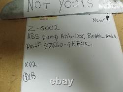 Nouvelle Abs Pompe Antiblocage De Freinage 4x4 X S At Module 476609bf0c 13 Convient Xterra