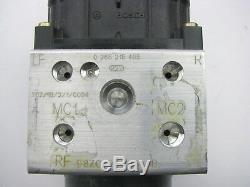 Nouvelle De Box Oem Ford F8zc-2c346-ab Abs Pompe Antiblocage De Freinage Et Module