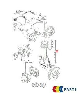 Nouvelle Véritable Audi Tt Mk1 Right Abs Anti-lock Brakes Front-sensor Wire 8n0927903c