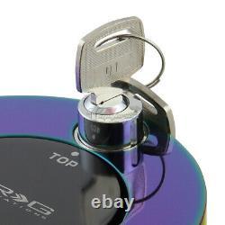 Nrg Volant À Libération Rapide Neo Chrome Anti-theft Lock Hub Adaptateur Withkey