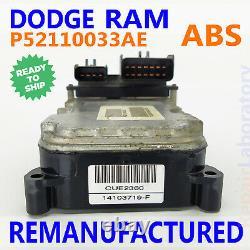 P52110033ae 2003 Dodge Ram 1500 2500 Abs Contrôle De Freinage Module