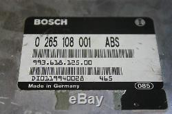 Porsche 911 Carrera 993 Freins Abs Unité De Contrôle Module 99361812500 Anti-lock