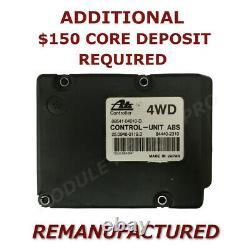 Reman 97 02 Toyota Tacoma Anti Lock Brake Abs Pump Control Module Ebcm Exchang