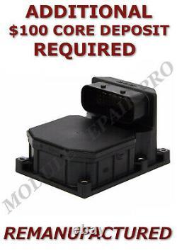 Remarque 03-05 Range Rover Abs Module De Commande De Pompe Frein Antiblocage Échange