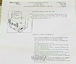 Rover Véritable Terre Freelander1 Antiblocage Abs Freinage __gvirt_np_nn_nnps<__ Modulator 1998-2006