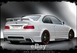 Spoiler De Botte Arriere Bmw 3 E46 (berline & Coupe & Cabrio 1998-2007)