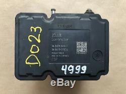 Suzuki Grand Vitara Abs Pompe Antiblocage De Freinage Module 06,2109 À 6000,3 06,2619-37201