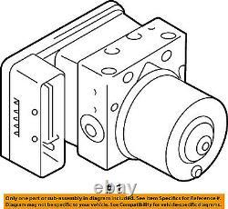 Suzuki Oem 09-13 Grand Vitara Abs Freins Anti-verrouillage-modulator 5611078kc3