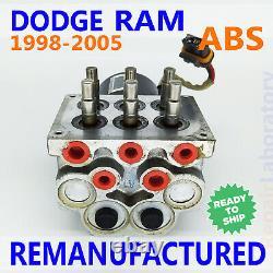Testé 98-05 Dodge Ram Durango Dakota Abs Unité Hydraulique