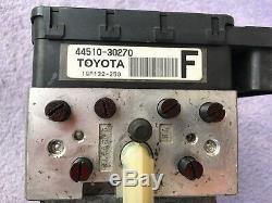 Unité De Pompe Abs Antiblocage De Frein 2007-2011 Toyota Camry Hybride Oem 44510-30270