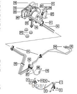 Véritable Module Mopar Anti-verrouillage Du Système De Freinage 68067395ab