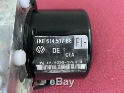 Vw Abs Pompe 1k0 614 517 Be 907 379 1k0 Ap Anti Verrouillage Module De Freinage Oem Eos Jetta