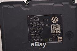 Vw Abs Pompe 1k0614517be 1k0907379ae Antiblocage De Frein Audi A3 Jetta Seat Eos